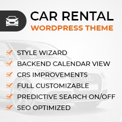 WP Car Rental Theme