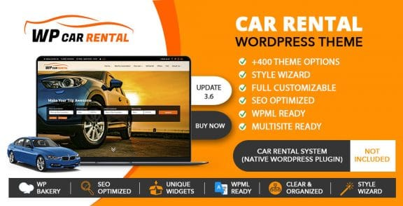 Car Rental Wordpress Theme