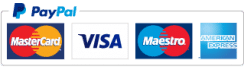 Secure payment via Paypal